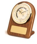 American Walnut Arch World Clock Achievement Awards