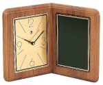 American Walnut Album Clock Achievement Awards