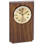 Walnut Clock Mount, Rounded Achievement Awards
