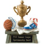 Vintage Trophy Award Basketball Basketball Trophy Awards