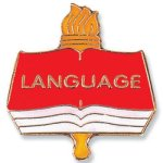 Language Lapel Pin Chenille Lapel Pins