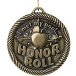 Met My Goal Honor Roll Education Trophy Awards