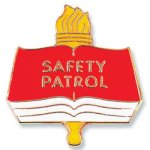 Safety Patrol Lapel Pin Education Trophy Awards