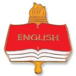 English Lapel Pin Education Trophy Awards