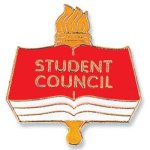 Student Council Lapel Pin Education Trophy Awards