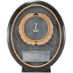 2 Insert, Resin Oval Equestrian Trophy Awards