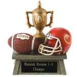 Vintage Trophy Award Football Football Trophy Awards