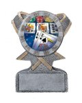 Action Sport Mylar Holder Gymnastics Trophy Awards