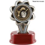 2 Insert Holder Resin Karate Trophy Awards