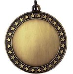 Blank Star Gold Military Trophy Awards