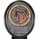 Music Resin Oval Music Trophy Awards
