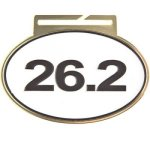 Large Oval 26.2 Oval Medal Awards
