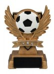 Soccer Victory Wing Resin Figure - Copy Scholastic Trophy Awards