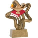 Lamp Of Knowledge Stars & Stripes Scholastic Trophy Awards