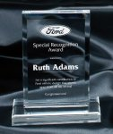 Clear Rectangle Award Traditional Acrylic Awards