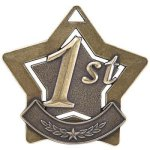 1st Place Star Gold Trapshooting Trophy Awards